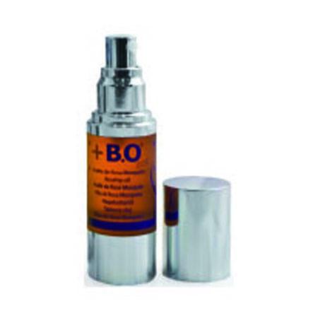 Aceite de rosa de mosqueta. Actúa sobre la renovación de la piel, mejorando su elasticidad, flexibilidad y firmeza.
